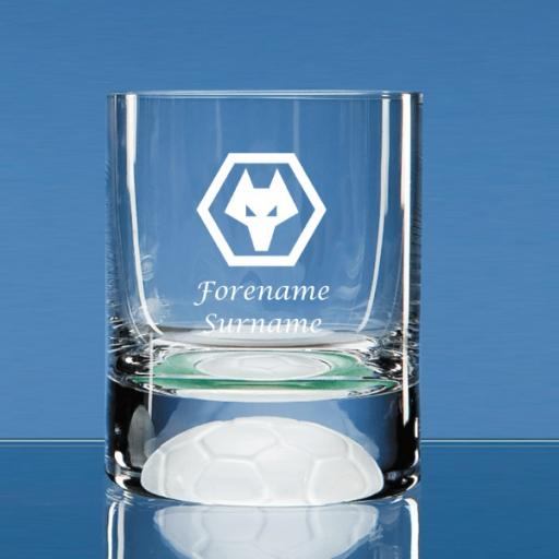 Wolves Crest Ball Base Tumbler
