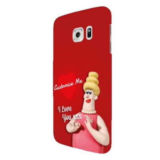 Wallace And Gromit Piella Samsung Galaxy S7 Edge Clip Case