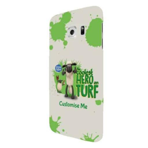 "Shaun The Sheep ""Coolest Hero On Turf"" Samsung S7 Edge Clip Case"