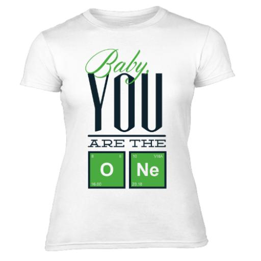 Body Chemistry Baby Your The ONE Women's-T-Shirt