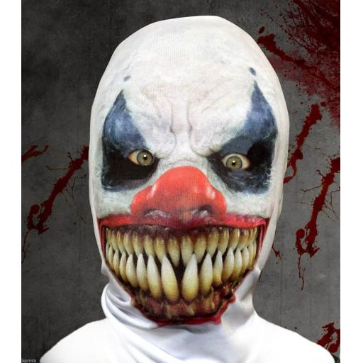 Demon Clown Mask - Light Weight- Breathable- Great For Halloween & Parties
