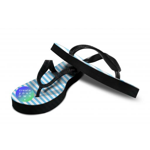 Create Your Own -Flip Flops - Rubber - Size 10-12 Adult