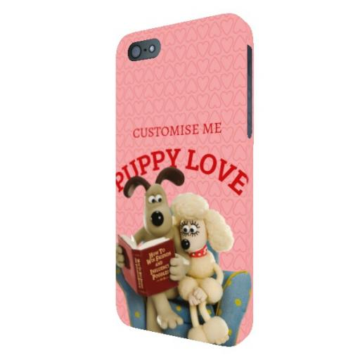 Wallace And Gromit Puppy Love iPhone 5/5s/5SE Clip Case