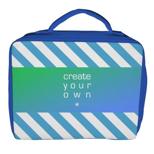Lunch Bag - Polyester - Blue