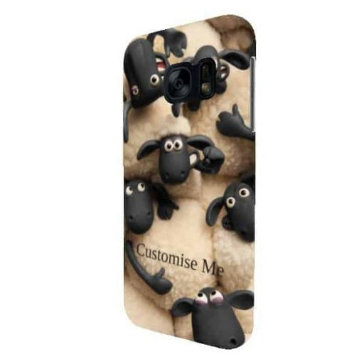 Shaun The Sheep Flock Print Galaxy S7 Clip Case