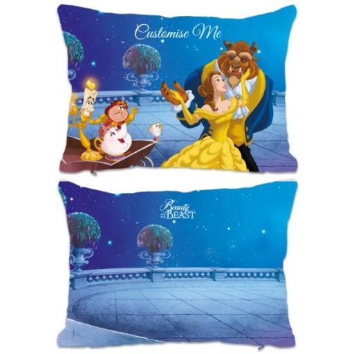Disney Beauty and the Beast Balcony Scene Extra Large Fiber Cushion