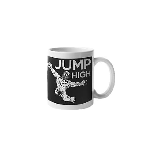 Mexican Wrestling -Luche Libre- Jump High 11oz Mug Ceramic Novelty Design Gift