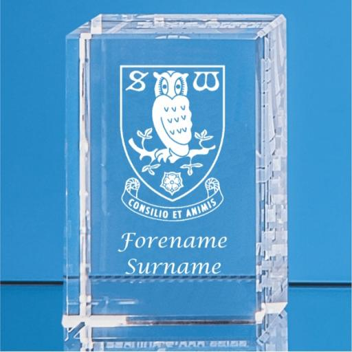 Sheffield Wednesday FC Crystal Rectangle