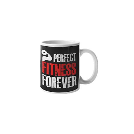 Perfect Fitness Forever 11 oz Mug Ceramic Novelty Fitness Exercise Gym Gift