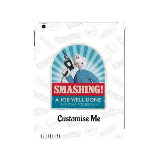 "Aardman Wallace And Gromit ""Smashing!"" iPad 2/3/4 Clip Case"