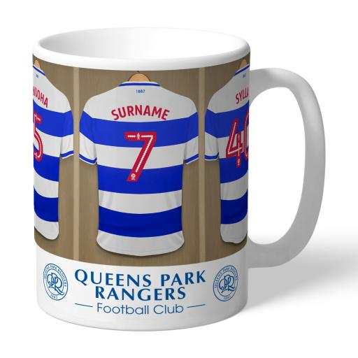 Queens Park Rangers FC Dressing Room Mug