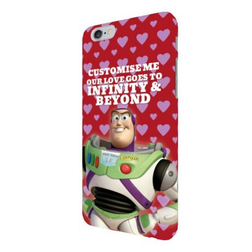 "Disney Toy Story Buzz Valentines ""Infinity & Beyond"" iPhone 6/6S Clip Case"