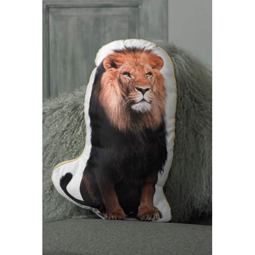 Lion Shaped Cushion Perfect Gift For Big Cat Lovers