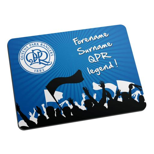 Queens Park Rangers FC Legend Mouse Mat