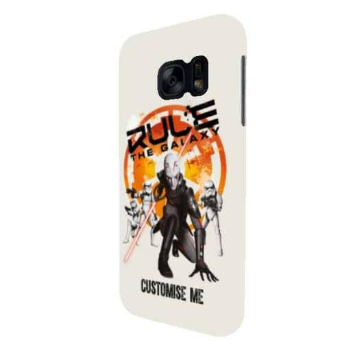 "Star Wars Rebels ""Rule The Galaxy"" Samsung Galaxy S7 Clip Case"
