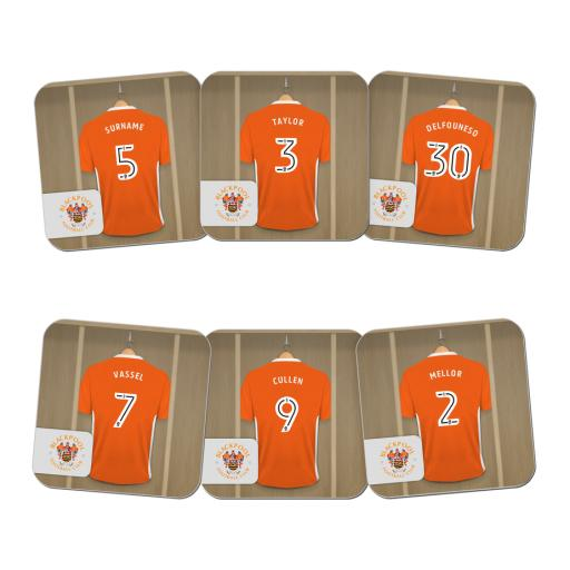 Blackpool FC Dressing Room Coasters