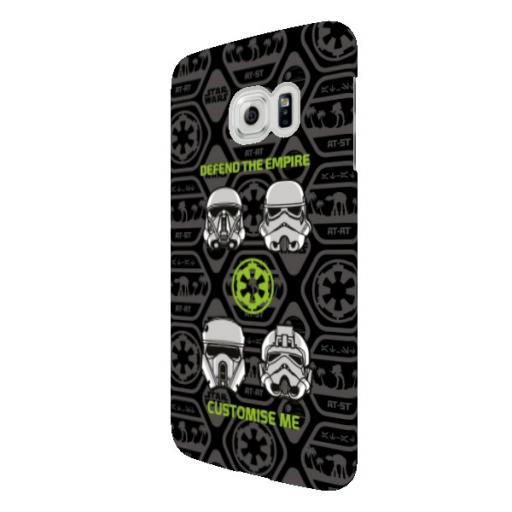 Star Wars Rogue One Defend The Empire Samsung Galaxy S6 Edge Clip Case