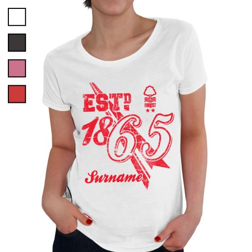 Nottingham Forest FC Ladies Established T-Shirt