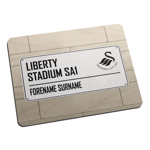 Swansea City AFC Street Sign Mouse Mat