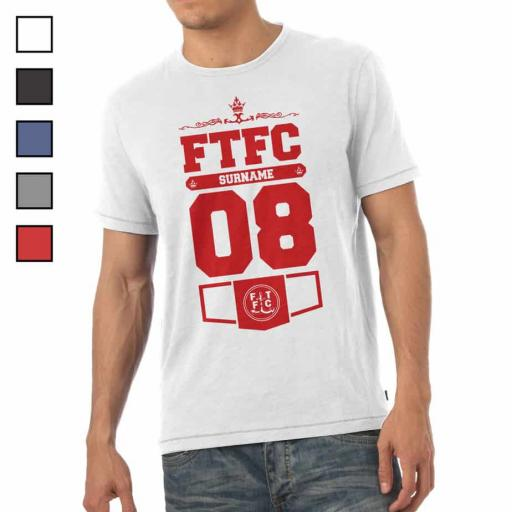 Fleetwood Town FC Mens Club T-Shirt