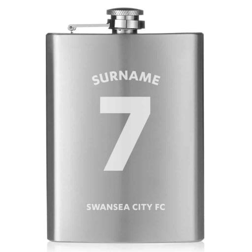 Swansea City AFC Shirt Hip Flask