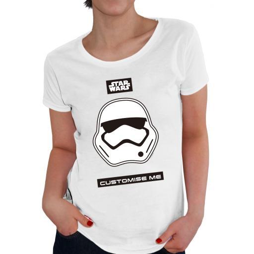 Star Wars Storm Trooper Icon Womens T-shirt