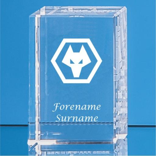 Wolves Crystal Rectangle
