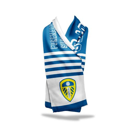 Leeds United FC No.1 Fan Fleece Scarf