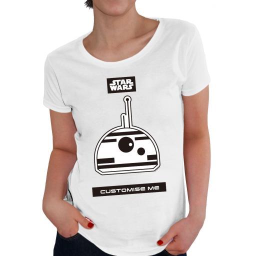 Star Wars BB8 Icon Womens T-shirt