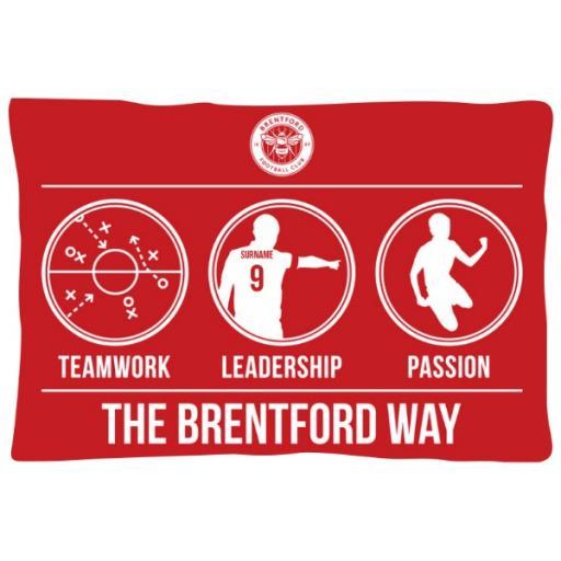 Brentford FC Way Pillowcase