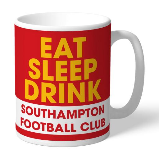 Southampton FC Eat Sleep Drink Mug