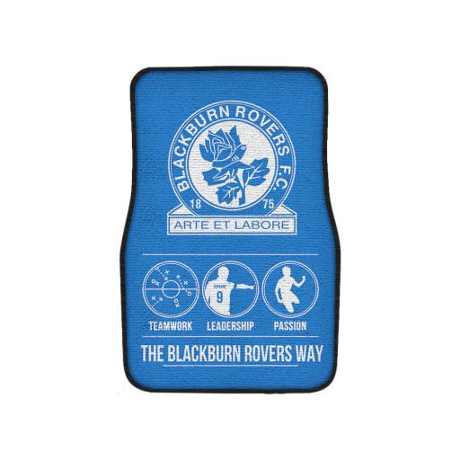 Blackburn Rovers FC Way Front Car Mat