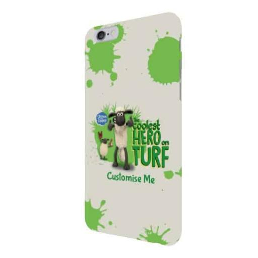 "Aardman Shaun The Sheep ""Coolest Hero On Turf"" iPhone 6+/6s+ Clip Case"