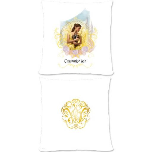 Disney Beauty and the Beast Bell 'Mirror' Large Fiber Cushion