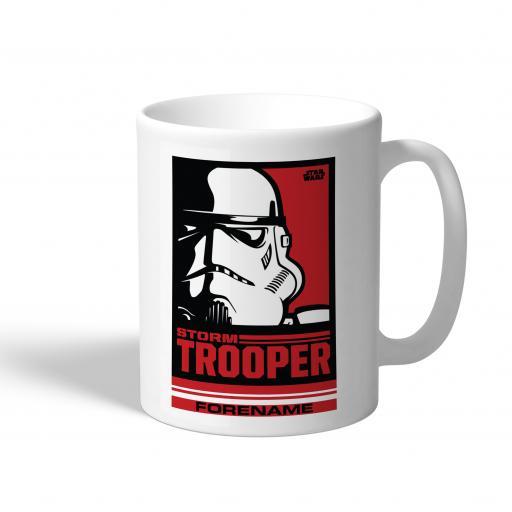 Star Wars Storm Trooper Pop Art Mug