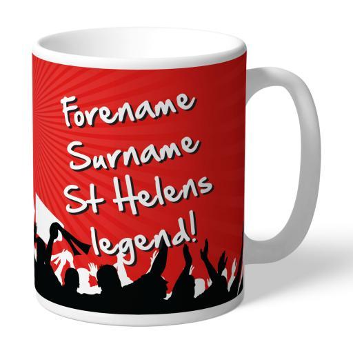 St Helens Legend Mug