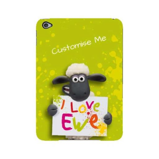 Aardman Shaun The Sheep Valentines Print iPad Mini 4 Clip Case