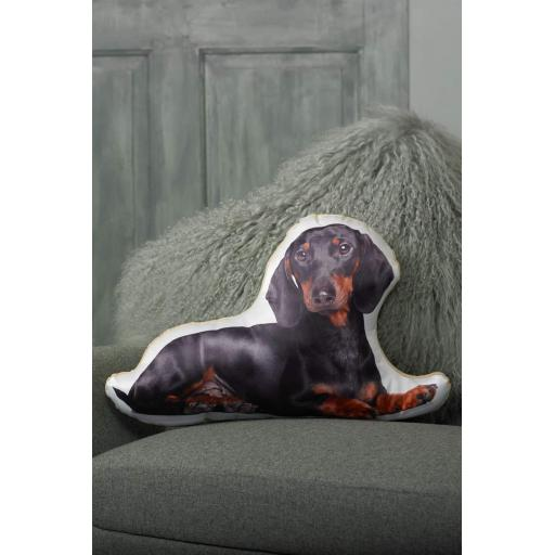 Dachshund Shaped Cushion Perfect Gift For Dog Lovers