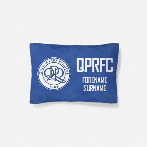 Queens Park Rangers FC Crest Pillowcase