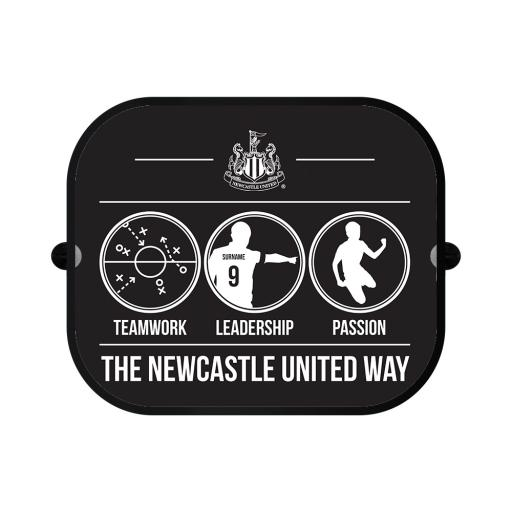 Newcastle United FC Way Car Sunshade