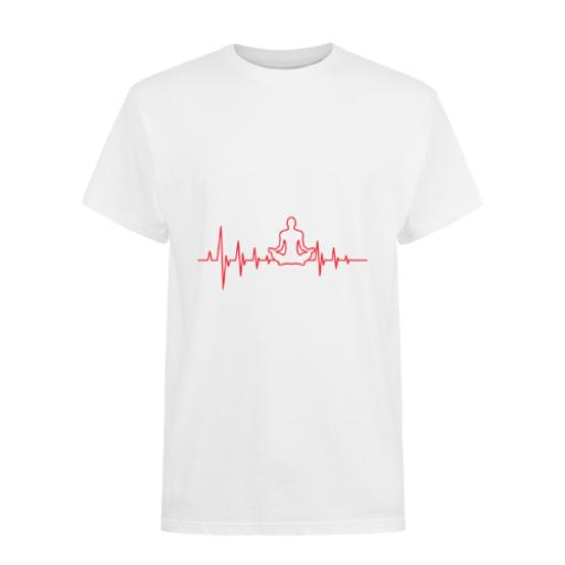 Yoga Heartbeat-B&C Exact 150 T-Shirt