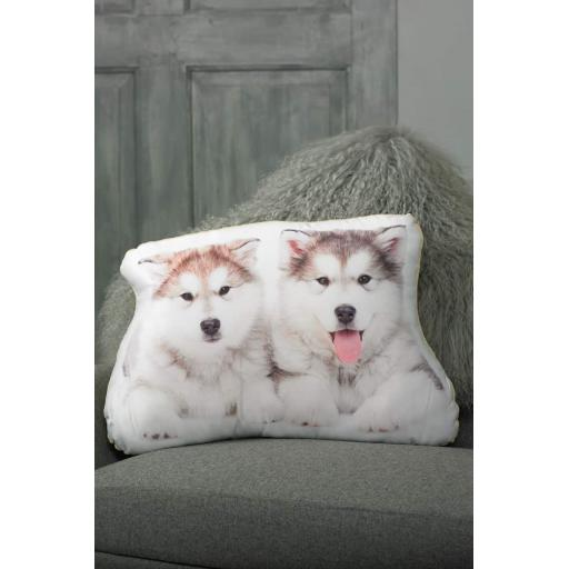 Malamute Shaped Cushion Perfect Gift For Dog Lovers