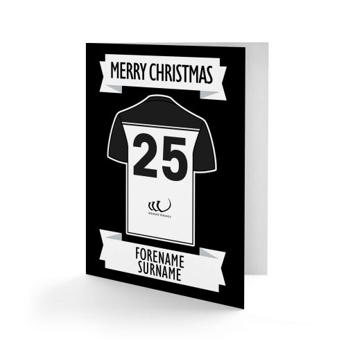 Widnes Vikings Shirt Christmas Card