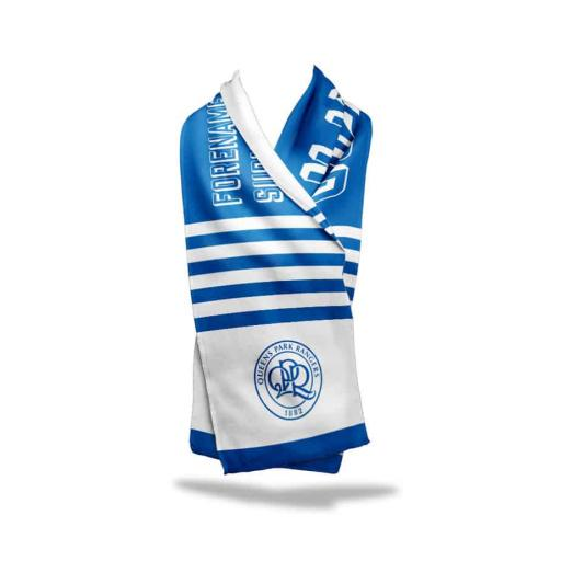 Queens Park Rangers FC No.1 Fan Fleece Scarf