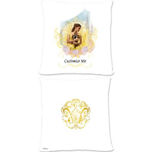 Disney Beauty and the Beast Bell 'Mirror' Small Fiber Cushion