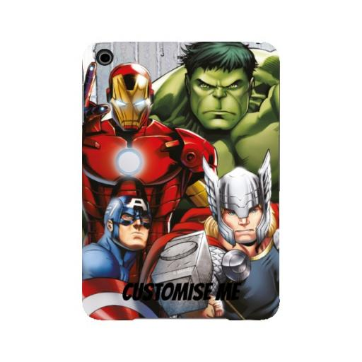 Marvel Avengers Assemble Group Scene iPad Mini 2/3 Clip Case