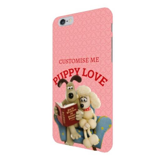Wallace And Gromit Puppy Love iPhone 6+/6s+ Clip Case