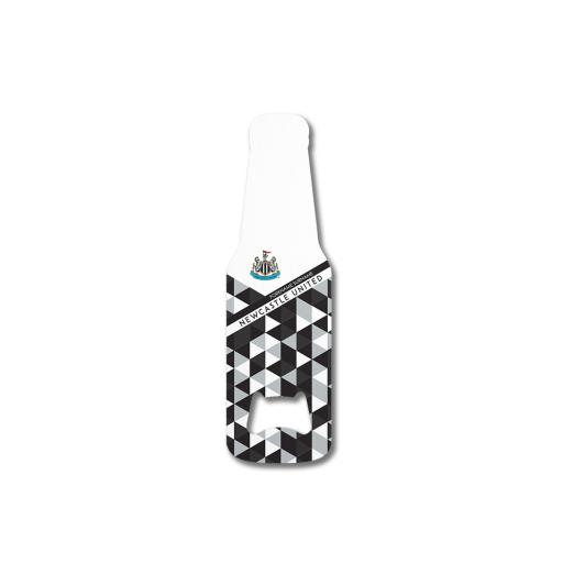 Newcastle United FC Patterned Bottle Shaped Bottle Opener