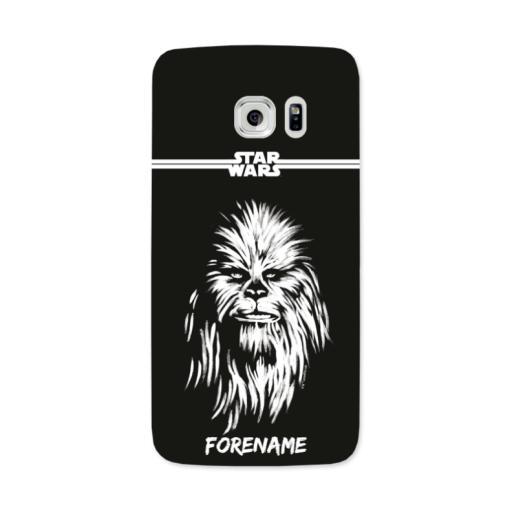 Star Wars Chewbacca Paint Samsung Galaxy 7 Edge