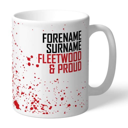 Fleetwood Town FC Proud Mug